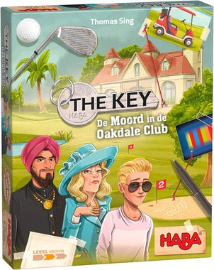 The Key: Moord in de Oakdale Club (8+)