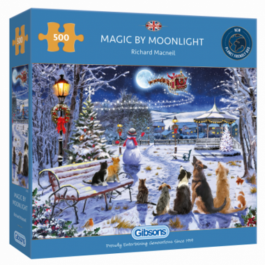 Magic by Moonlight - Puzzel (500)