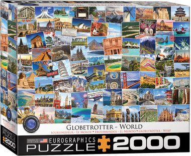 Globetrotter, World - Puzzel (2000)