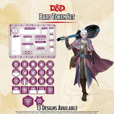 Dungeons & Dragons: Bard Token Set
