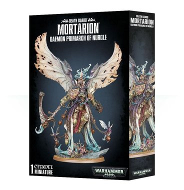 Warhammer 40,000 - Death Guard: Mortarion, Daemon Primarch of Nurgle