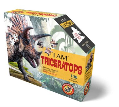 I Am Triceratops - Puzzel (100)
