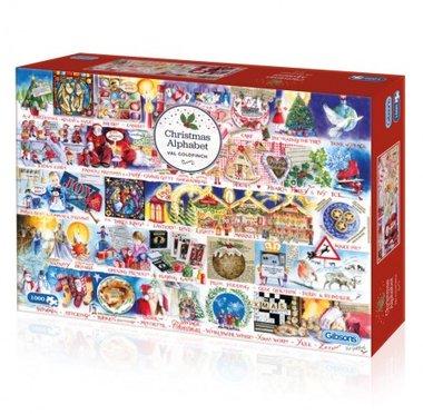 Christmas Alphabet - Puzzel (1000)