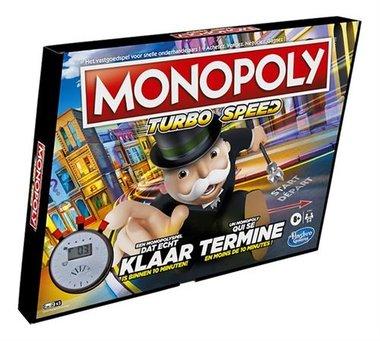 [GEMIDDELD BESCHADIGD] Monopoly Turbo [NL-FR]