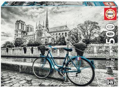 Bike near Notre Dame - Puzzel (500)