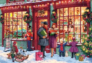 Christmas Toy Shop - Puzzel (1000)