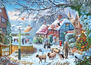A Winter Stroll - Puzzel (1000)