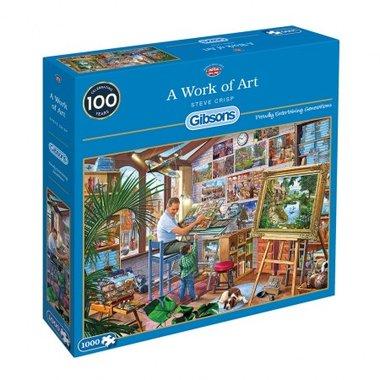 A Work of Art - Puzzel (1000)