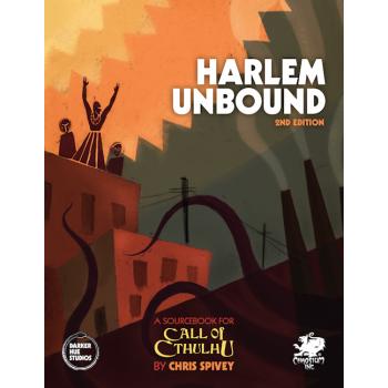 [GEMIDDELD BESCHADIGD] Call of Cthulhu: Harlem Unbound