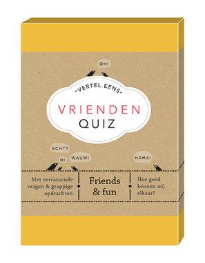 Vertel Eens: Vrienden Quiz