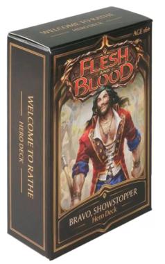 Flesh and Blood: Hero Deck (Bravo, Showstopper)