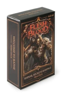 Flesh and Blood: Hero Deck (Rhinar, Reckless Rampage)