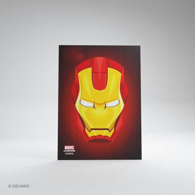 Gamegenic Marvel Champions Art Sleeves: Iron Man (66x91mm) - 50+1