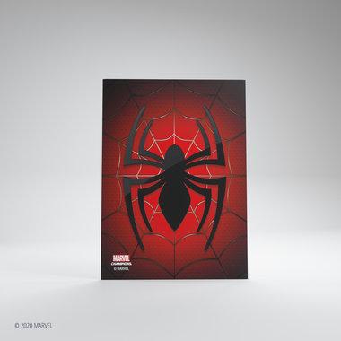 Gamegenic Marvel Champions Art Sleeves: Spider-Man (66x91mm) - 50+1
