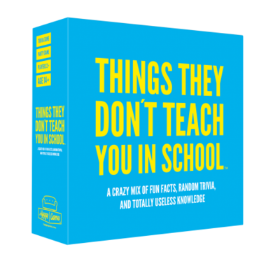Things They Don't Teach You in School [ENG]