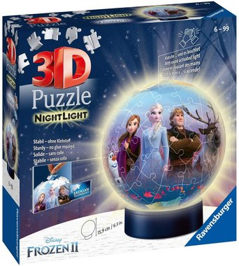 Frozen II Nightlight - 3D Puzzel (74)