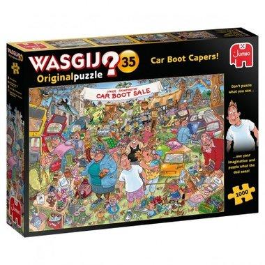 Wasgij Original Puzzel (#35): Vlooienmarkt vondsten! (1000)