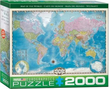 Map of the World - Puzzel (2000)