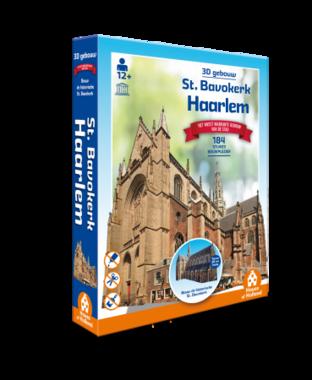 Haarlem: St. Bavokerk - 3D Puzzel (162)