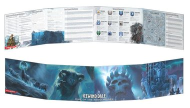 Dungeons & Dragons: Icewind Dale - Rime of the Frostmaiden (Dungeon Master's Screen)
