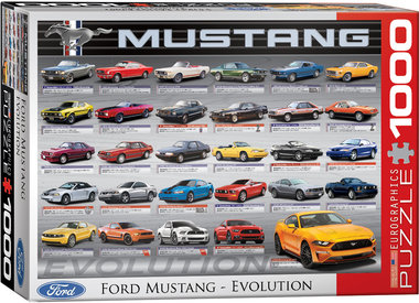 Ford Mustang Evolution - Puzzel (1000)