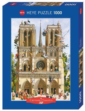 Vive Notre Dame! - Puzzel (1000)