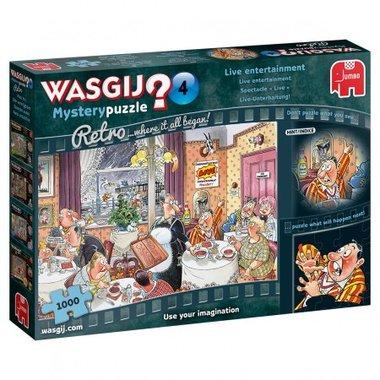 Wasgij Mystery Puzzel Retro (#4): Live Entertainment (1000)