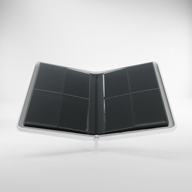 Zip-Up Album: 8 Pocket (Gamegenic) - White