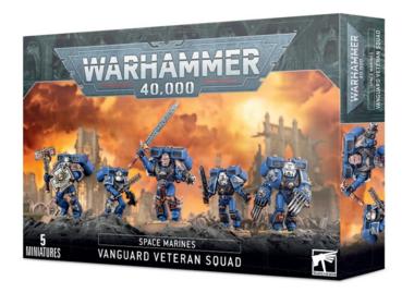 Warhammer 40,000 - Adeptus Astartes: Vanguard Veteran Squad