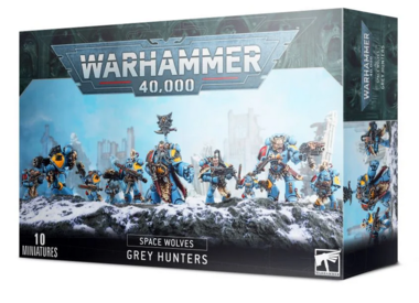Warhammer 40,000 - Space Wolves Grey Hunters