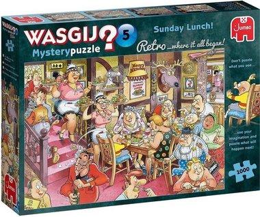 Wasgij Mystery Puzzel Retro (#5): Zondagse Lunch! (1000)
