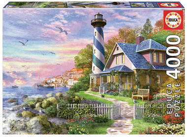 Lighthouse at Rock Bay - Puzzel (4000)