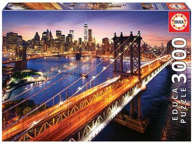 Manhattan at Sunset - Puzzel (3000)