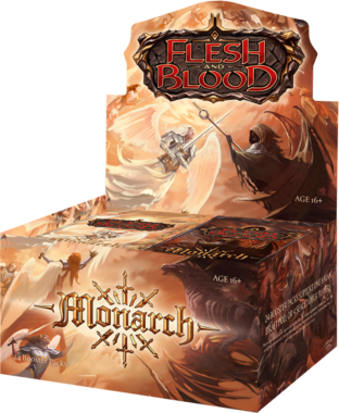 [PRE-ORDER] Flesh and Blood: Monarch (Boosterbox) [FIRST EDITION]
