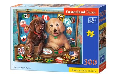 Stowaway Pups - Puzzel (300)
