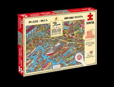 Pierre de Doolhofdetective: Drukke Haven - Puzzel (300XL)