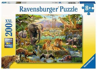 Dieren van de Savanne - Puzzel (200XXL)