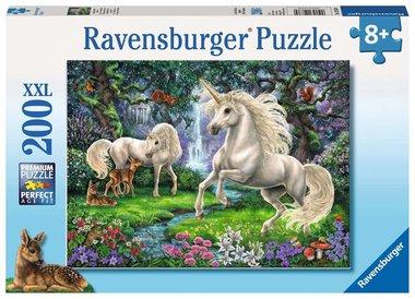 Licornes mystérieuses - Puzzle (200XXL)