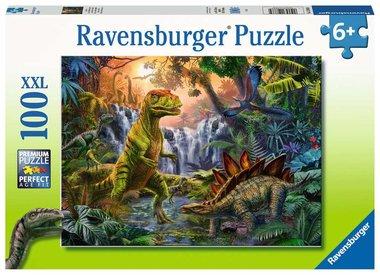 Dinosaur Oasis - Puzzel (100XXL)