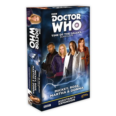 Doctor Who: Time of the Daleks - Mickey, Rose, Martha & Donna Friends Expansion