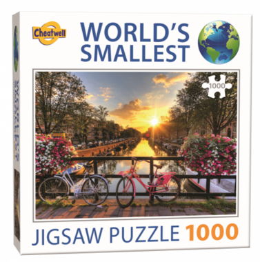 Amsterdam - World's Smallest Jigsaw Puzzle (1000)