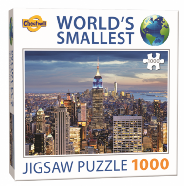 New York - World's Smallest Jigsaw Puzzle (1000)