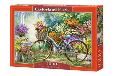 [LICHT BESCHADIGD] The Flower Mart - Puzzel (1000)