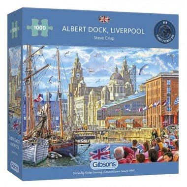 [LICHT BESCHADIGD] Albert Dock, Liverpool - Puzzel (1000)