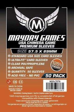 Mayday Card Sleeves (Premium): Chimera USA (57,5x89mm) - 50 stuks