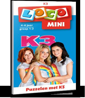 [LICHT BESCHADIGD] Mini Loco - Puzzelen met K3 (4-6 jaar)