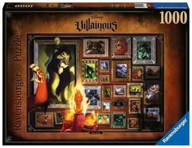 Disney Villainous: Scar - Puzzel (1000)