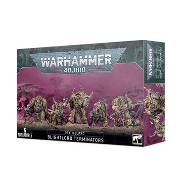 Warhammer 40,000 - Death Guard: Blightlord Terminators