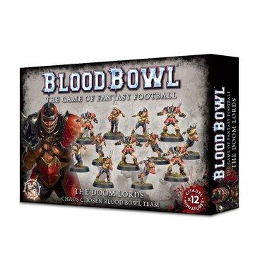 [LICHT BESCHADIGD] Blood Bowl: The Doom Lords (Chaos Chosen Blood Bowl Team)