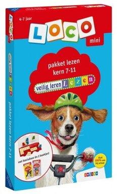 Loco Mini Pakket - Veilig Leren Lezen Kern 7-11